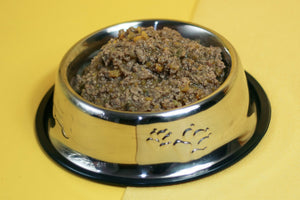 BidaBest Healthy Chunky Chicken & Squash Dog Food in Bowl