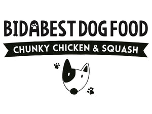 BidaBest Healthy Chunky Chicken & Squash Dog Food Logo