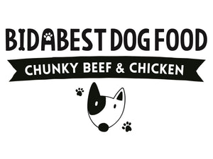 BidaBest Healthy Chunky Beef & Chicken Dog Food Logo