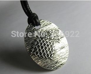 Fashion Jewelry Vintage Charm Game of Thrones Stark Pendant Necklace Iceintothea-intothea
