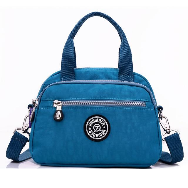 Fashion Women's Waterproof Nylon Messenger Bags Female Tote Shoulder Bags Girls Casualintothea-intothea