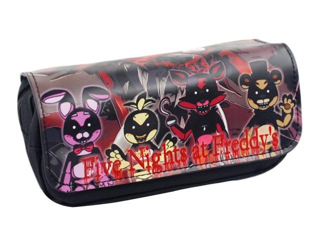 New Cartoon Pencil Pen Case Five Nights At Freddy`s /The Nightmare Beforeintothea-intothea