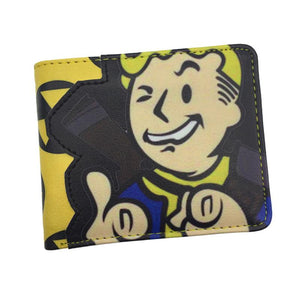 Free Shipping Game Fallout Wallet for Young With Card Holder Dollar Priceintothea-intothea