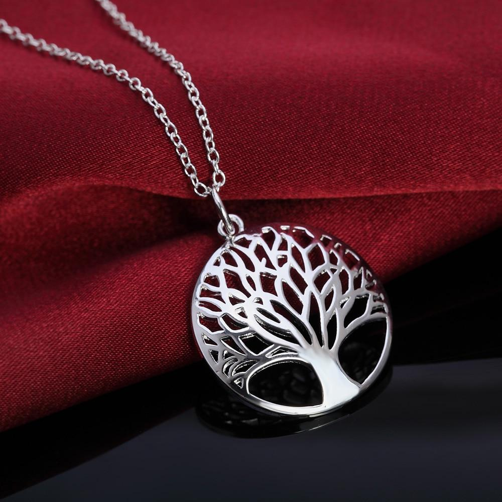 Hot sale silver for women Tree Of Life pendant necklace jewelry silverintothea-intothea