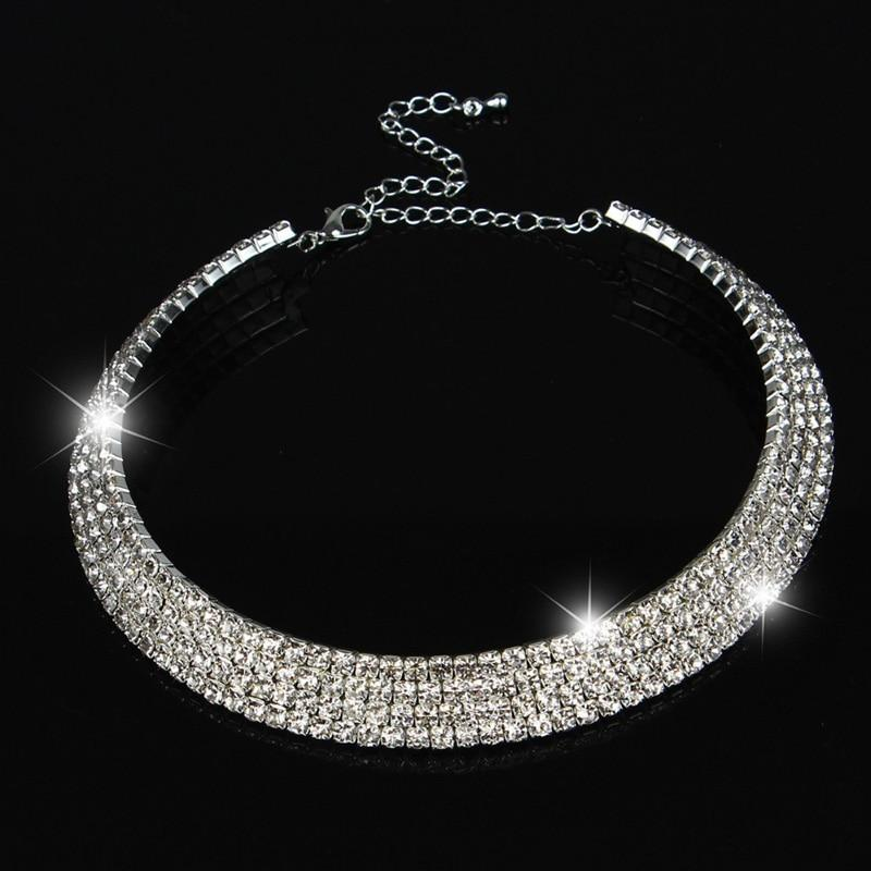 2017 Hot Sale Limited Collier Collares Maxi Necklace Wedding Bridal Jewelry 1intothea-intothea