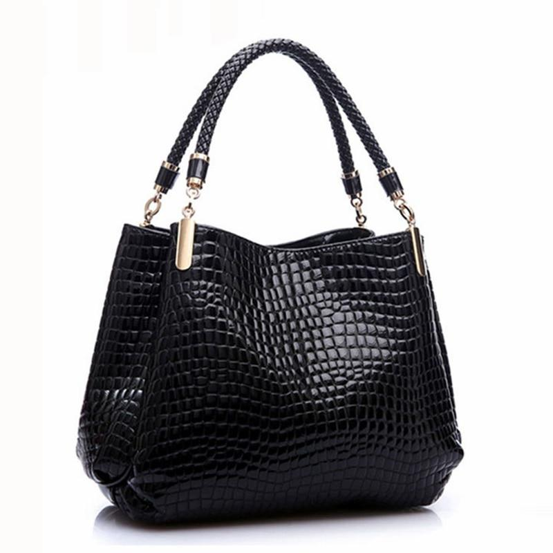 Designer Alligator Bags Women Leather Handbags Spanish Brand Luxury Ladies Hand Bagsintothea-intothea