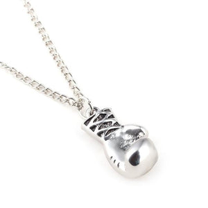 New Fashion Lovely Mini Boxing Glove Necklace Boxing match Jewelry Cool Pendantintothea-intothea