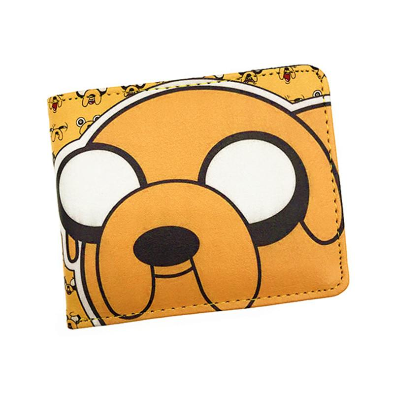 Anime Comics Cartoon Adventure Time Wallet Jake The Dog Purse With Cardintothea-intothea