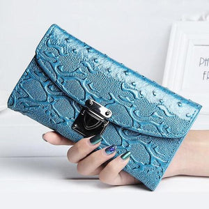Women Wallets Candy Colors PU Leather Lady Purses Handbags Woman Clutch Moneybagsintothea-intothea
