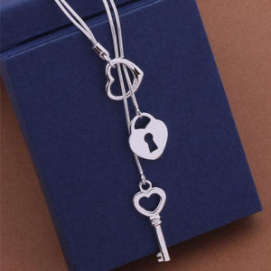 AN451 Hot 925 sterling silver Necklace 925 silver fashion jewelry pendant intothea-intothea