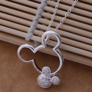 AN671 Hot 925 sterling silver Necklace 925 silver fashion jewelry pendant intothea-intothea