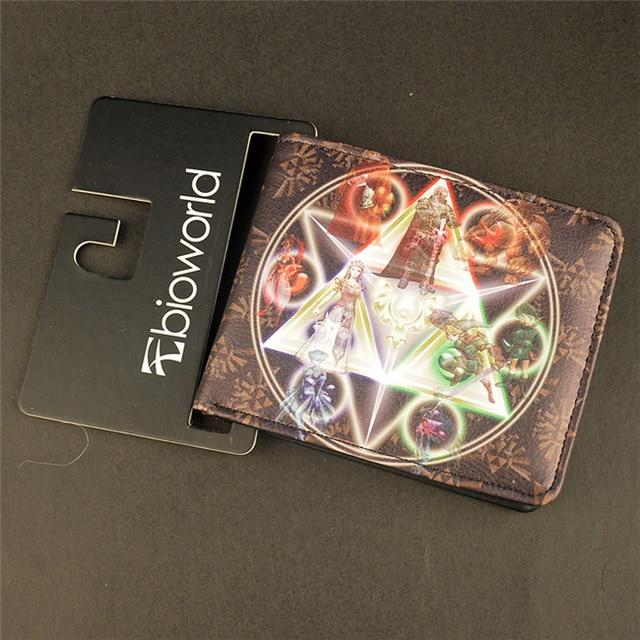 New Gravity Falls Wallet /Lord of The Rings/Zelda /Sesame Street Shortintothea-intothea