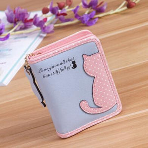 Fashion Women Wallets Zipper Lady Handbags Clutch Coin Purse Cards Holder PUintothea-intothea