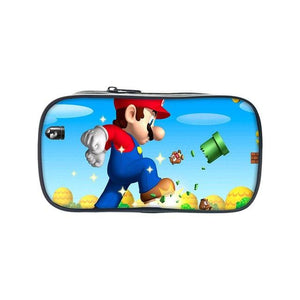 New Fashion Super Mario Printing Pencil Anime Case Casual Students Supplies Cartoonintothea-intothea