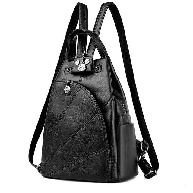2017new Fashion Women Backpack High Quality Youth Leather Backpacks for Teenage Girlsintothea-intothea