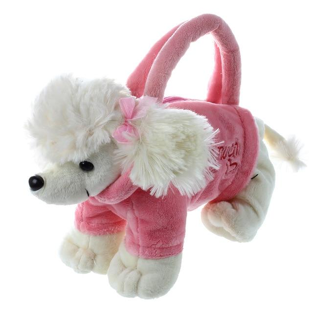 Cute stuffed animal doggie bag Shape children handbags girls Handbag Gift forintothea-intothea