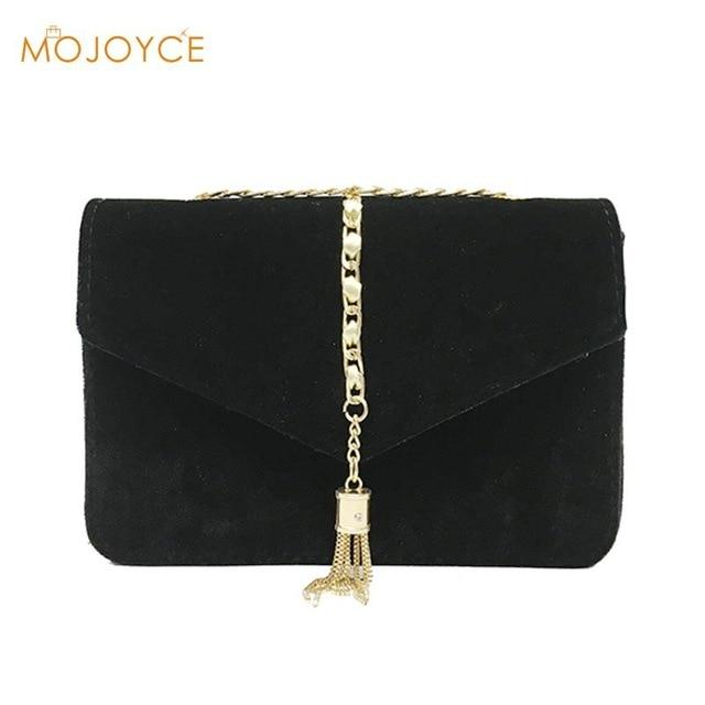 Retro Velvet Crossbody Bag Autumn Winter Gold Messenger Bags Women Elegant Longintothea-intothea