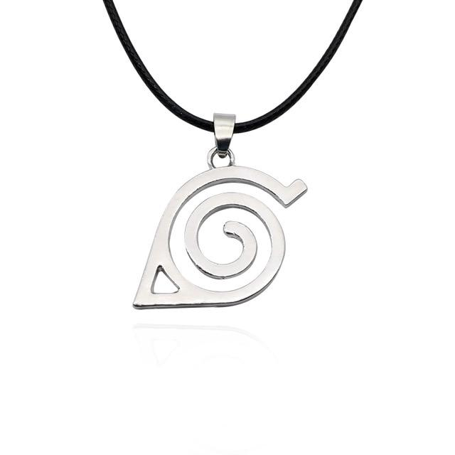 Hot Anime Naruto Necklace Kakashi Leaf Village Symbol Cosplay Pendant Necklaces Kakashiintothea-intothea
