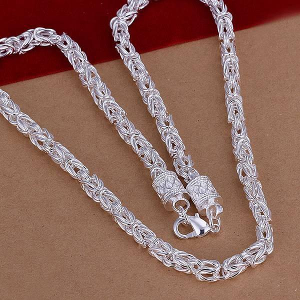 Necklace 925 Silver Necklace 925 Silver Fashion Jewelry Necklace 18 Inches Chainintothea-intothea