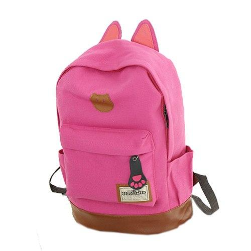 New Canvas Backpack For Women Girl Satchel School Bags Cute Rucksackintothea-intothea