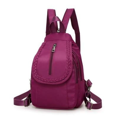 2018 New Women Backpacks Nylon Crossbody Shoulder Bags Multifunctional Casual Female Smallintothea-intothea