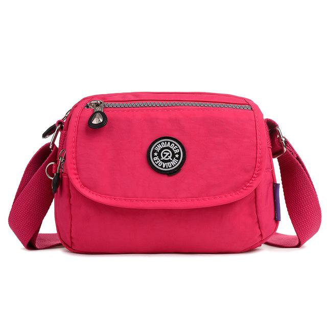 Waterproof Nylon Women Messenger Bags Small Purse Shoulder Bag Female Crossbody Bagsintothea-intothea