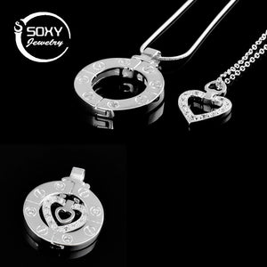 Couple jewellery Stairway To Heaven Women Pendant Necklace Couples Necklace Menintothea-intothea