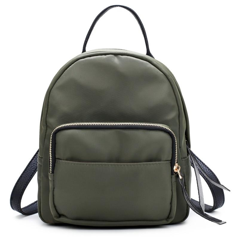 New Women Backpack Waterproof Nylon School Bags Students Backpack Women Travel Bagsintothea-intothea