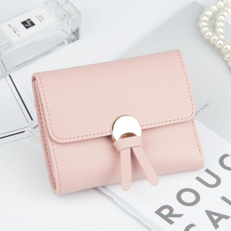 Baellerry Trifold Leather Women's Wallet Short Female Coin Purse Mini Envelope Walletintothea-intothea