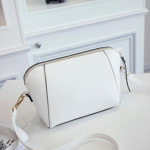 SUOAI 2018 New Summer Style Women Shell Bags Fashion Pu Female Shoulderintothea-intothea