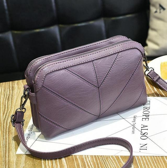BARHEE 2018 High Quality Leather Women Handbag Luxury Messenger Bag Soft puintothea-intothea