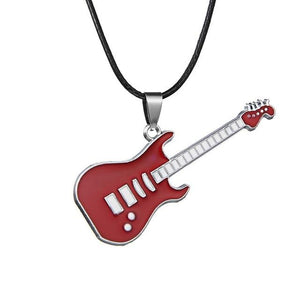 Fashion Stainless Steel Pendant Necklaces women men Pop Music Jewelry Concert Musicintothea-intothea
