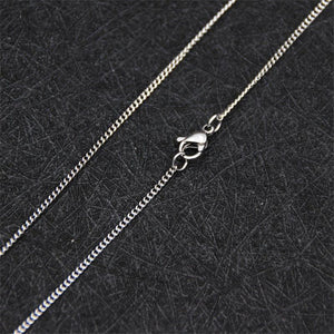 Cheap Promotions 1.9MM Stainless Steel Side Chain Necklace 18-24inches Fashion Gift Jewelryintothea-intothea