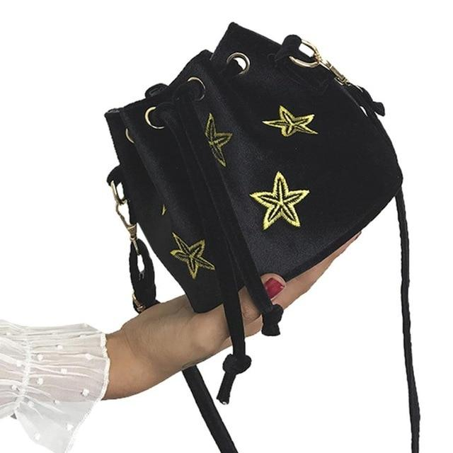 2018 Large Capacity Star Print Female Shoulder Bag Women's Handbag Crossbody Messengerintothea-intothea