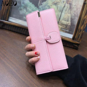 wallet for women wallets with zipper coin purse Long Clutch bagintothea-intothea