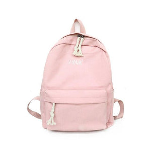 2018 New Korean Harajuku ulzzang High School Student Schoolbag Female Campus Canvasintothea-intothea
