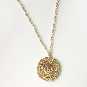 2018 Fashion Hot Wholesale Fashion Jewelry Vintage Charm Aztec Coin Pendant Necklaceintothea-intothea