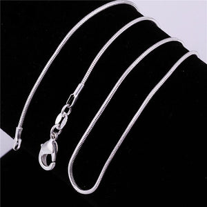 Fashion Silver color Statement Necklace New Arrival Long Chain Necklace forintothea-intothea