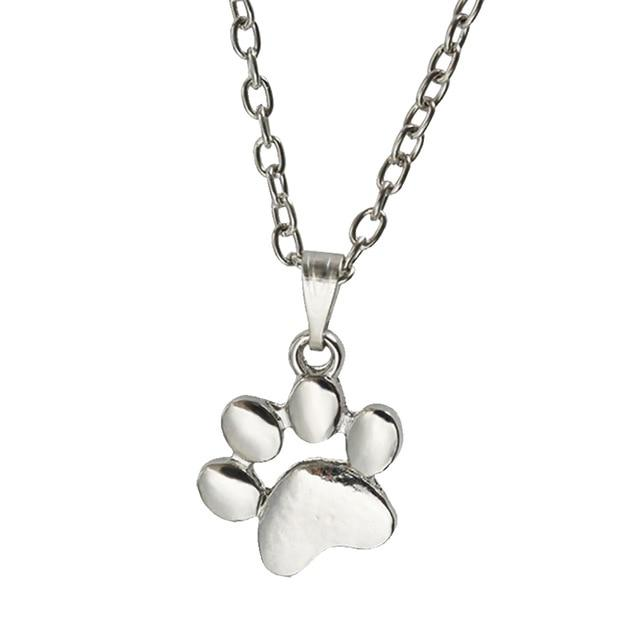 1 Pc Trendy Lovely Dogs Kitten Cat Paw Claw Pendant Silver Goldintothea-intothea