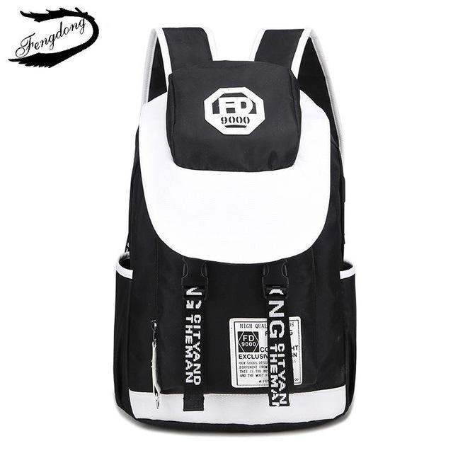 2018 Backpack Female Oxford Graffiti Women Travel Backpack laptop Waterproof intothea-intothea