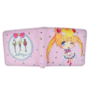 PU Leather Anime Wallets Sailor Moon / Ladybug /Himouto Umaru Chanintothea-intothea