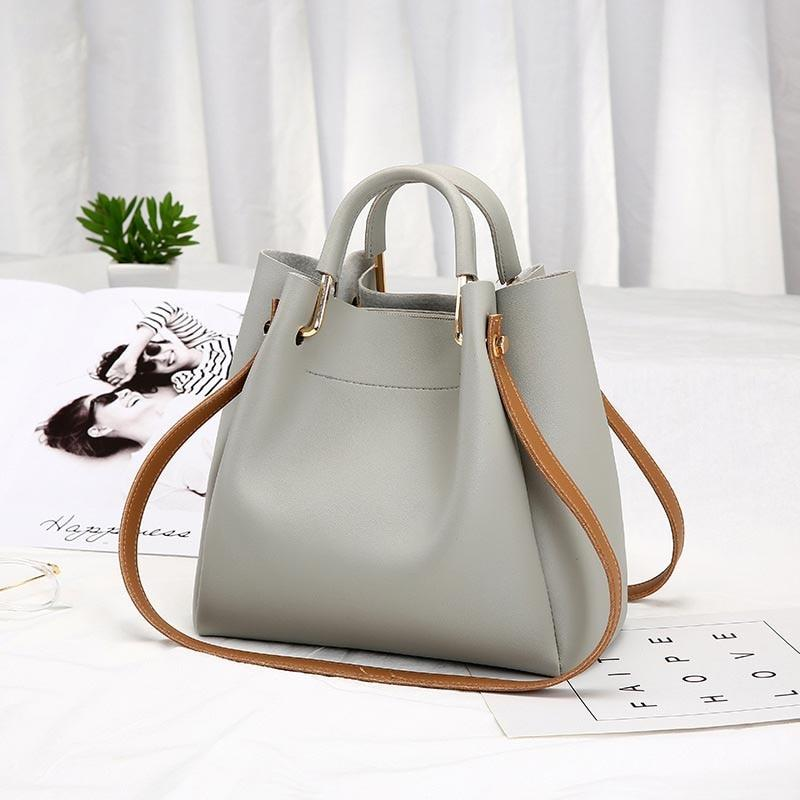 PU Leather Women Handbag Female Famous Brand Top-handle Bags Casual Toteintothea-intothea