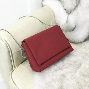2018 New Women's Handbag Fashion Female Solid Messenger Bag Crossbody Shoulder Bagsintothea-intothea
