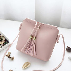 Hot Women's Handbags Bag Leather Female Fashion Tassel bolsa feminina Soft Clutchintothea-intothea