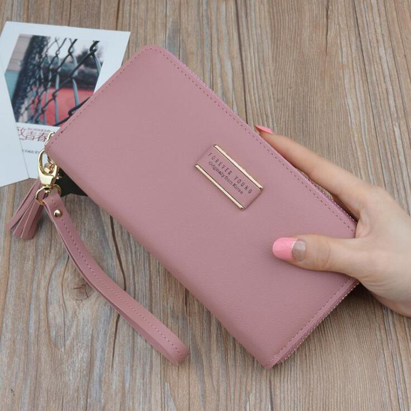 Designer Brand Clutch Wallet Large Capacity Card Holder Money Bag Female Purseintothea-intothea