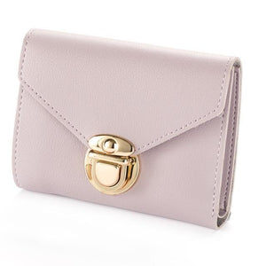 Baellerry Mini Envelope Wallet Women Leather Small Women Wallets Clutch Ladies Purseintothea-intothea