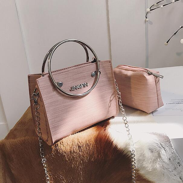2 bag 2018 Fashion New Women Handbags High-quality PU leather Tote Handbagintothea-intothea