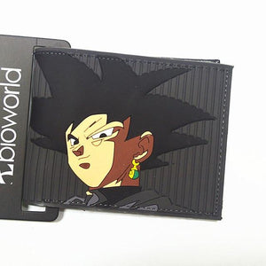 DRAGON BALL cartoon wallet credit card Zipper Poucht short walletintothea-intothea