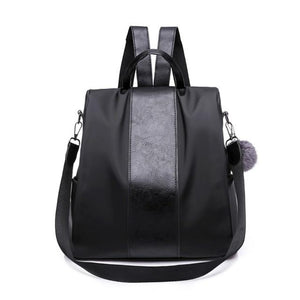 Women Backpack Purse Waterproof Nylon Anti-theft Rucksack Lightweightintothea-intothea