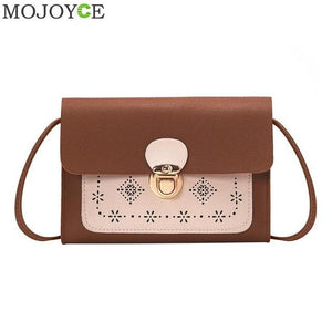 Fashion Women Laser Carved Messenger Bag Brand Designer Shoulder Bag for Womenintothea-intothea